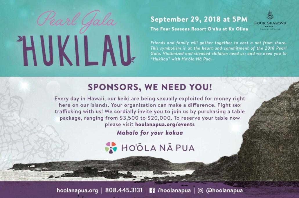 Ho'ōla Nā Pua's Pearl Gala Hukilau on September 29, 2018 at