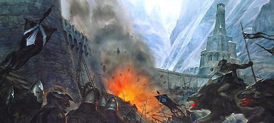 Image result for the battle of helms deep