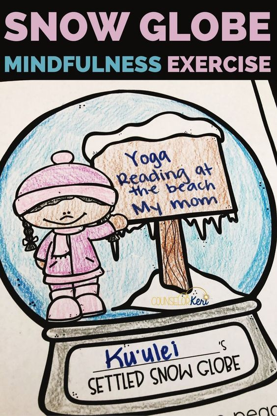 Winter Mindfulness Activities for Kids - Counselor Keri
