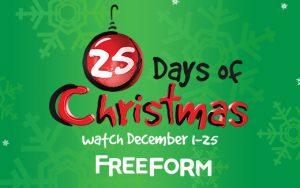 25 Days Of Christmas 2019.Abc Family Freeform 25 Days Of Christmas 2017