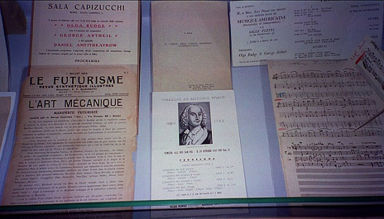 Papers related to Olga Rudge and Vivaldi