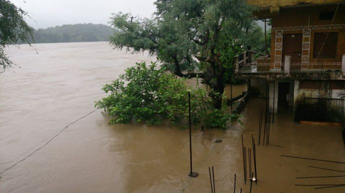 Narmada-Flooding