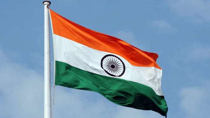 Tricolour -on- I-Day