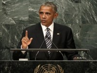 Mendacious War Criminal Obama's Final Speech To The UN General Assembly