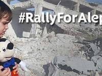 #RallyForAleppo Outside Downing Street On Saturday