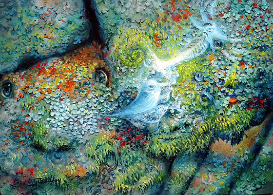 """Web of Life"" By Max D. Standley http://www.maxdstandley.com/paintings/web_of_life.html"