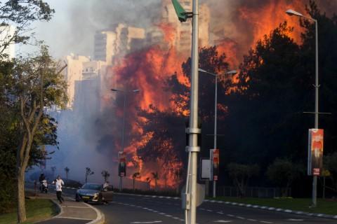 israel-fire