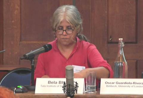 Social Activist Bela Bhatia Attacked At Home In Bastar, Asked To Leave In 24 Hours