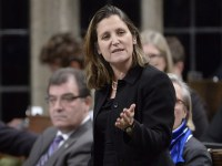 Freeland – Aimed At Putin? Or Trump?