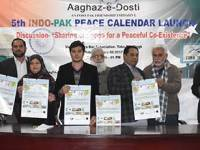 Fifth Indo-Pak Peace Calendar Launched In Toba Tek Singh
