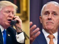 Trump Dresses Down Australian Prime Minister
