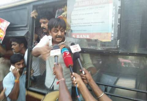 Human Rights Defender Thirumurugan Gandhi Arrested