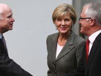 John McCain in Australia