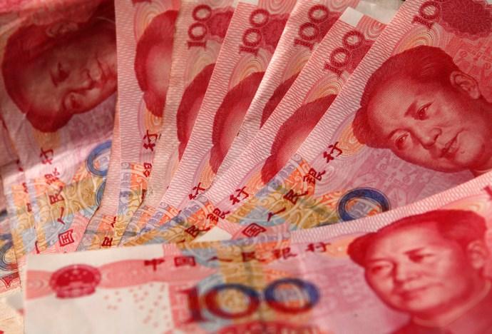 Yuan-banknotes