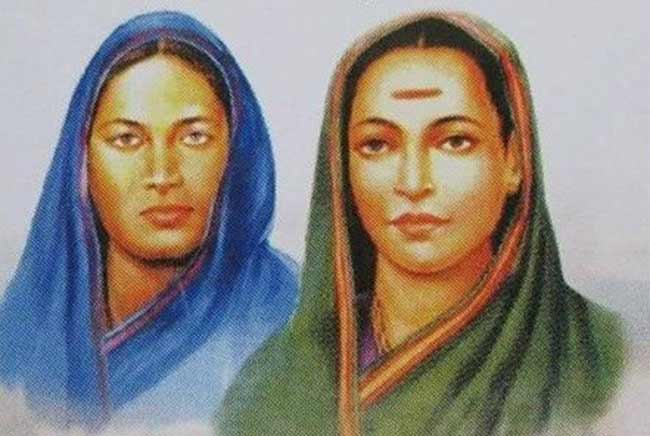 Fatima Shiekh and Savitribai Phule