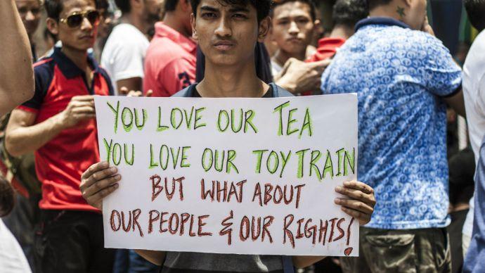 Gorkhaland-Darjeeling_Protest1