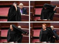 The Burka Comes To Parliament: Pauline Hanson's Panto
