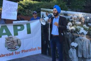 Walk For Pluralist India Held In Vancouver