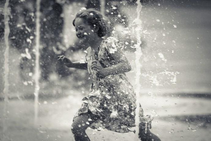 dancing in the rain photo