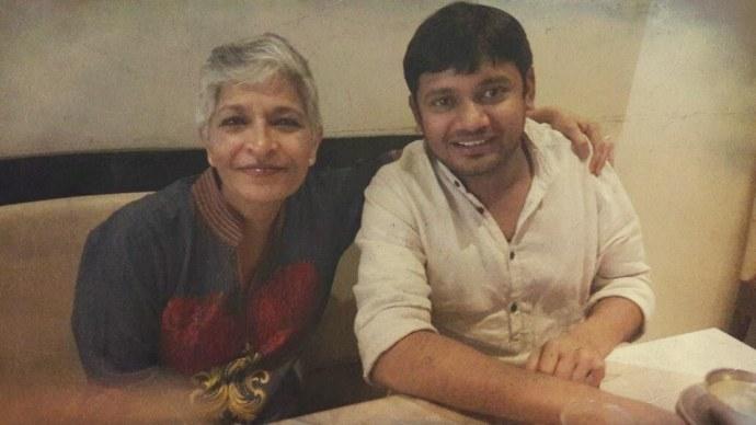 Gauri-Lankesh-Kanhaiya-Kumar