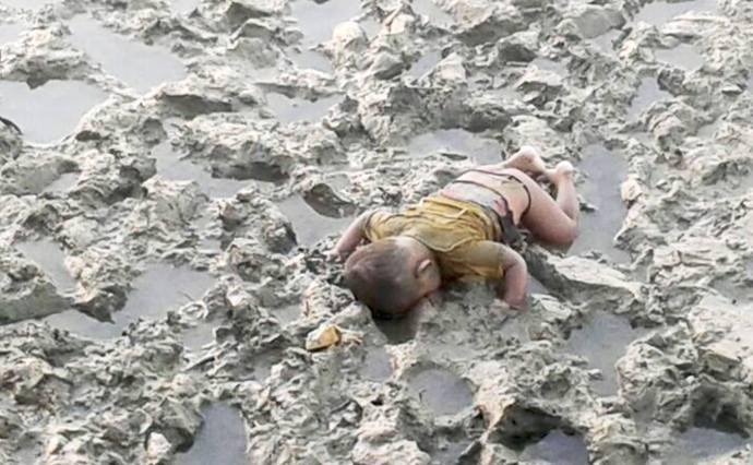 Rohingya-baby