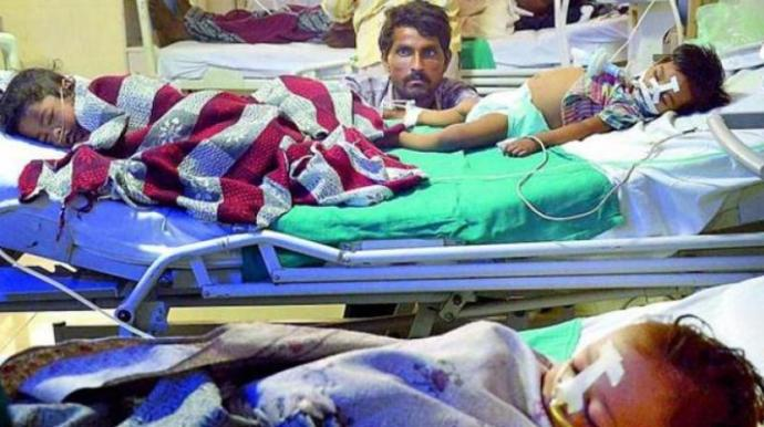 49 children died in Farrukhabad at Dr. Ram Manohar Lohia Hospital