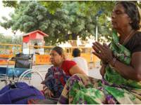 Tale  Of Despair : Patients Living On The Pavements  Outside  AIIMS