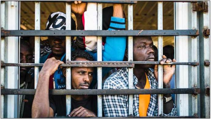Thousands of loyalists and migrants from other African countries languish in prisons.