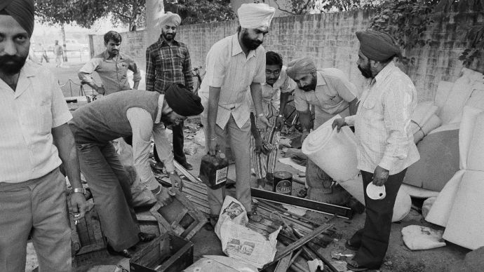 Sikh Pogrom of 1984