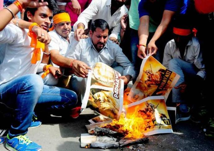 karni-sena-protest-in-jaipur_padmavati