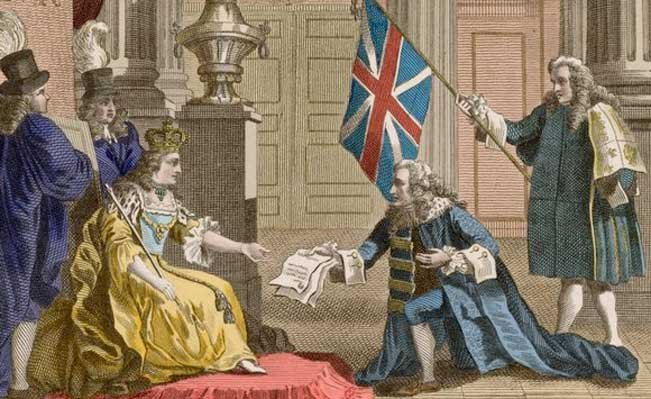 Image result for acts of union 1707