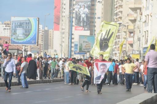 the Muslim Brotherhood riot in Alexandria