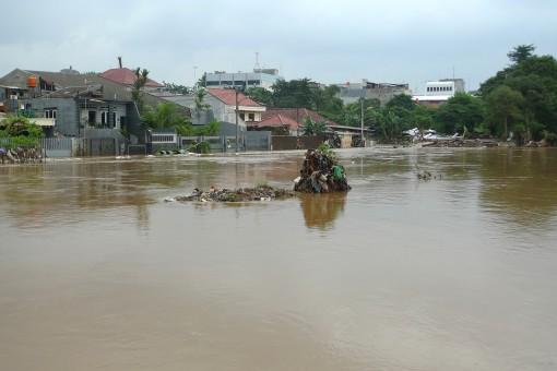 flooded Kampung Melayu