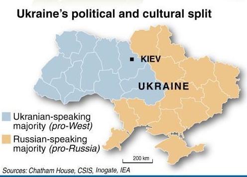 Kiev-Ukrain-Map