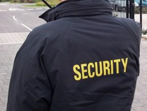 uniformed guards