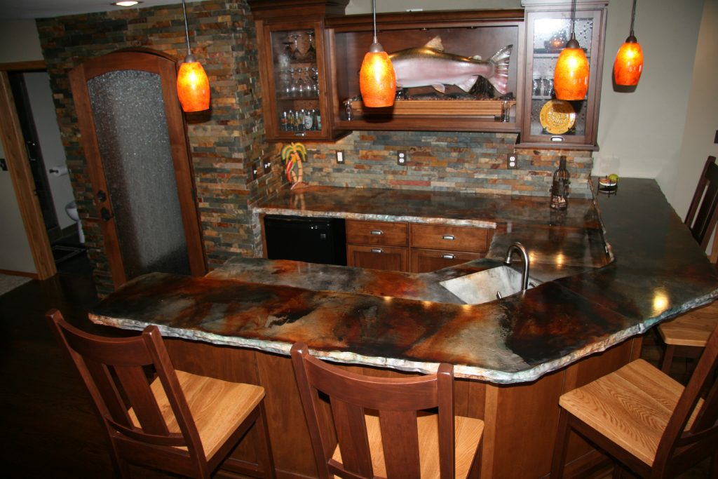 Concrete Countertops Cost Installed, Plus Pros And Cons Of Concrete Tops