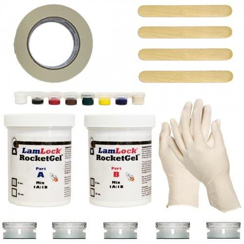 granite marble chip crack repair kit