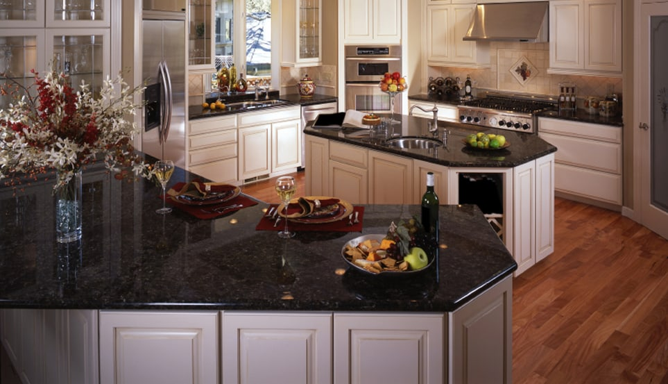 How To Polish Granite & Restore That Factory Shine ... on Black Countertops  id=82530