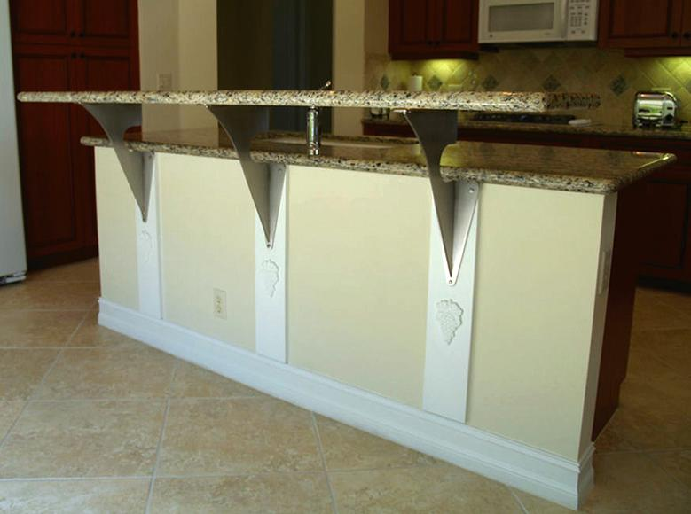 New Countertop Support Brackets From Outwater
