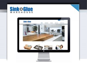 sink and glue warehouse website