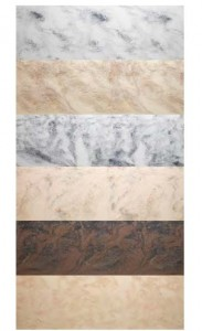 Avonite Symphony Collection of Solid Surface
