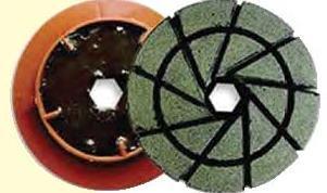 Granquartz polishing wheels