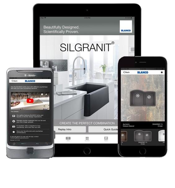 BLANCO Updates SILGRANIT Color App