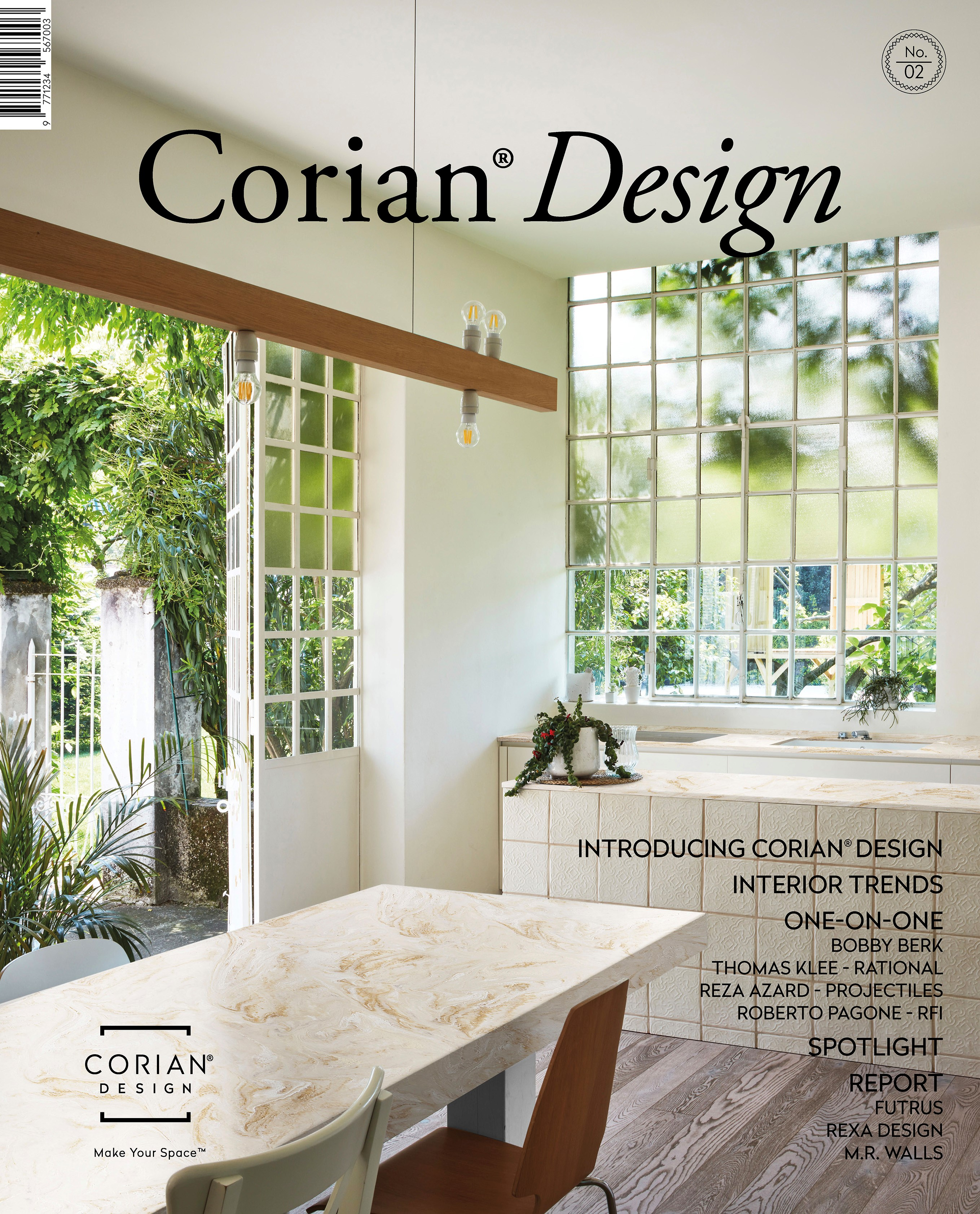 """DuPont Launches the Second Issue of its Global """"Corian® Design Magazine"""""""