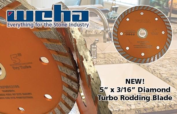 Weha Introduces New Diamond Turbo Rodding Blade