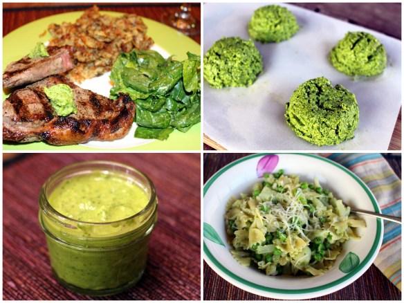 Scallion pesto from The CSA Cookbook