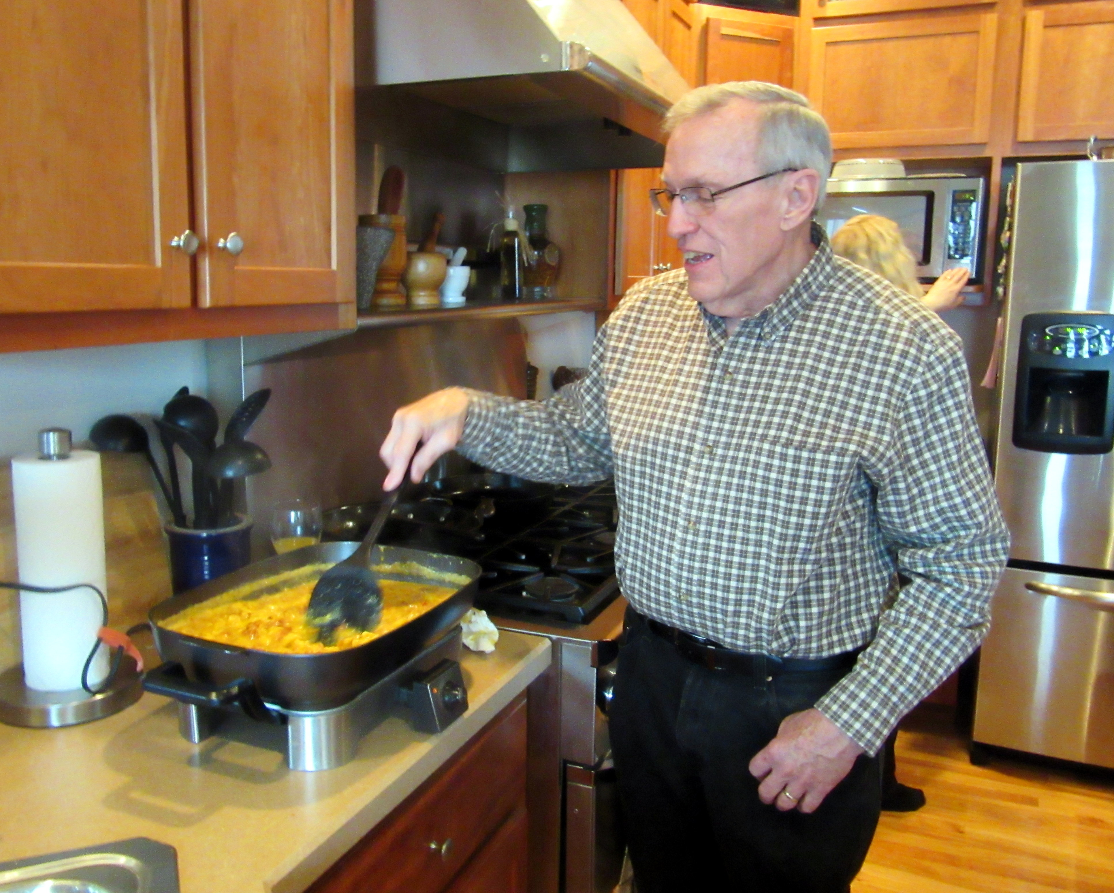 My Dad's Famous Scrambled Eggs - Counting My ...