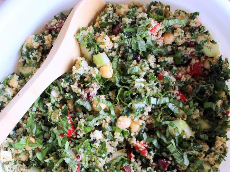 Kale and Couscous Salad