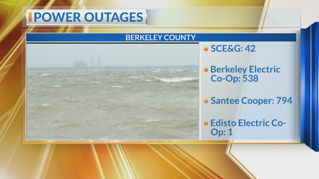 Temple Berkeley Co. Power Outage hits