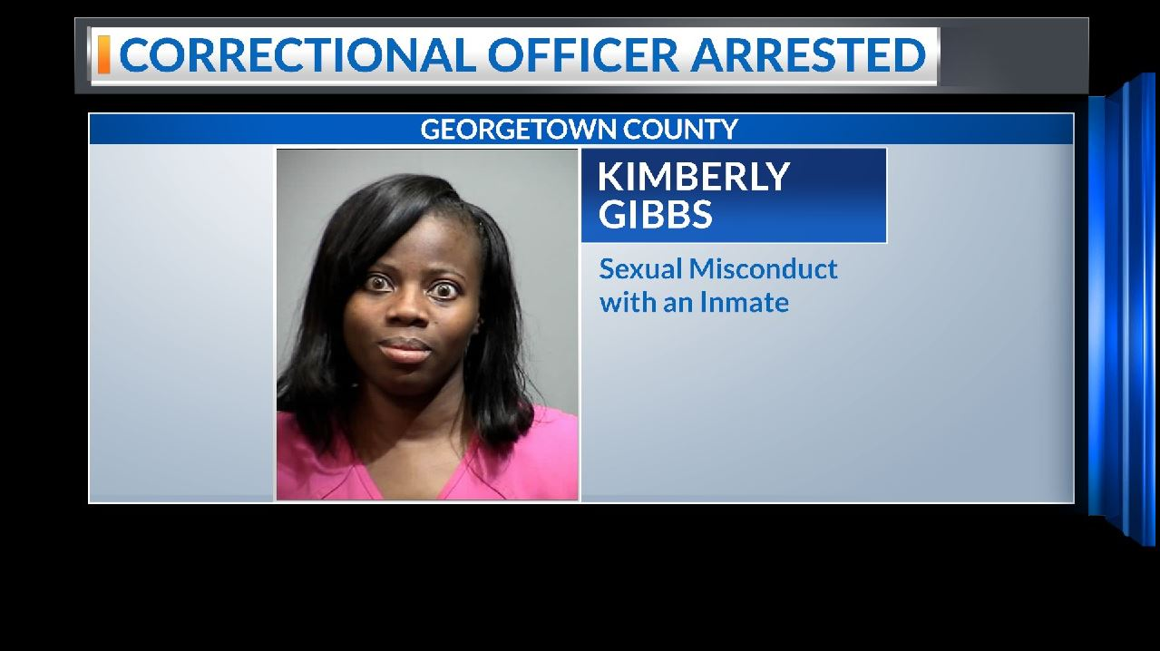 Georgetown County Correctional Officer arrested for Sexual